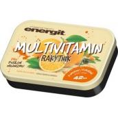 Energit Multivitamín Pomaranč vitamínové tablety pre posilnenie organizmu 42 tabliet