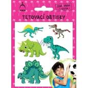 Tetovacie obtlačky detské 2541 - dinosaury 01