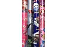 Disney Princess Vianočný baliaci papier pre deti svetlo ružový Snehulienka 2 mx 70 cm
