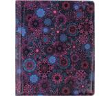 Albi Puzdro na karty aj doklady Kvety 10 cm x 13,5 cm