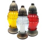 Admit Lampa sklenená 23 cm 80 g LA273 rôzne farby