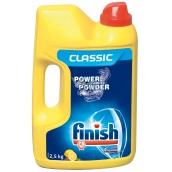 Calgonit Finish Power Powder Lemon prášek do myčky 2,5 kg