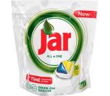 Jar All in One Lemon kapsle do myčky nádobí 36 kusů