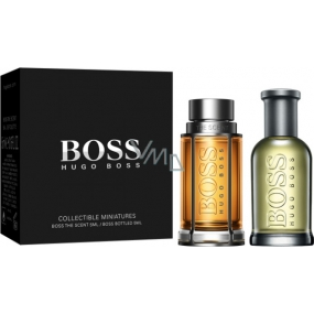 Hugo Boss Boss The Scent for Men toaletní voda 5 ml + Boss No.6 Bottled toaletní voda 5 ml, Miniatura set