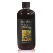 Millefiori Natural Sandalo Bergamotto - Santálové dřevo a bergamot Náplň difuzéru pro vonná stébla 500 ml