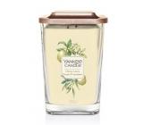 Yankee Candle Citrus Grove - Citrusový háj sójová vonná sviečka Elevation veľká sklo 2 knôty 552 g