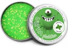EP line Inteligentná Ultra plastelína svietiace v tme s vôňou Mäty as glitrami 80 g