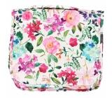 Albi Original Cestovná závesná kozmetická taška Hortenzie 24 cm × 19 cm × 8 cm