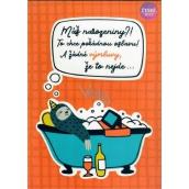 Albi Hrací přání do obálky To chce pořádnou oslavu!, Když nemůžeš, tak přidej Mirai 15 x 21 cm
