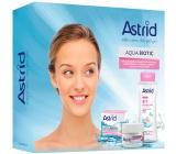 Astrid Aqua Biotic denný a nočný krém pre suchú a citlivú pleť 50 ml + Soft Skin 3v1 micelárna voda 400 ml, kozmetická sada