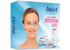 Astrid Aqua Biotic denní a noční krém pro suchou a citlivou pleť 50 ml + Soft Skin 3v1 micelární voda 400 ml, kosmetická sada
