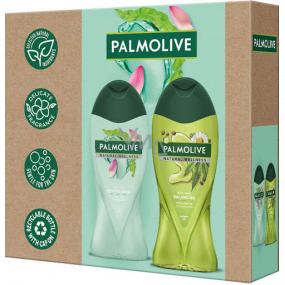 Palmolive Natural Wellness Revitalising sprchový gél 500 ml + Natural Wellness Balancing sprchový gél 500 ml, kozmetická sada