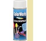 Color Works Colorspray 918502 slonová kost alkydový lak 400 ml