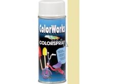 Color Works Colorsprej 918502 slonová kosť alkydový lak 400 ml