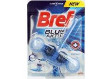 Bref Blue Aktiv Chlorine WC blok na hygienickú čistotu a sviežosť Vašej toalety, obarvuje vodu do modrého odtieňa 50 g