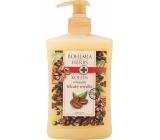 Bohemia Herbs Kofein a Olivový olej relaxační krémové tekuté mýdlo 500 ml