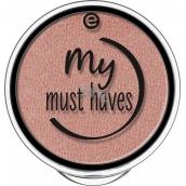 Essence My Must Haves Eyeshadow oční stíny 08 Peach-party! 1,7 g