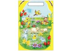 Anjel Igelitová taška 32 x 20 x 4 cm Kozliatka a ovečky