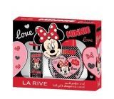 La Rive Disney Minnie Mouse toaletná voda 50 ml + pena do kúpeľa 250 ml, kozmetická sada