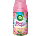 Air Wick Freshmatic náplň Malibu Beach & ibištek osviežovač vzduchu náhradná náplň, výdrž až 60 dní, s vôňou ružového ibišteka 250 ml