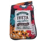 Albi Skladacia taška na zips do kabelky s menom Iveta 42 x 41 x 11 cm