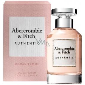Abercrombie & Fitch Authentic Woman toaletná voda 100 ml