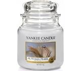 Yankee Candle Autumn Pearl - Jesenné perla vonná sviečka Classic strednej sklo 411 g