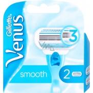 Gillette Venus Smooth náhradné hlavice pre ženy 2 kusy