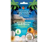 Marion Tropický ostrov Tahiti Paradise textilné pleťová maska hydratačná 1 kus