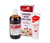 Aromatica Echinaceové bylinné kvapky pre prirodzenú obranyschopnosť 100 ml + Kosmín na pery 25 ml, duopack