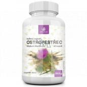 Allnature Ostropestrec bylinný extrakt vnútorné čistič, má vplyv na správnu funkciu pečene a všetkých vnútorných orgánov doplnok stravy 60 kapslí