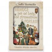 Nekupto Svietiace lucernička Josef Lada Vianoce ako od Lady 13,7 x 20 x 5 cm