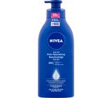Nivea Body Milk Rich výživné telové mlieko pre veľmi suchú pokožku s pumpičkou 625 ml