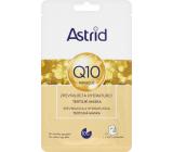Astrid Q10 Miracle spevňujúce a hydratujúce pleťová textilné maska 20 ml