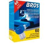 Bros Elektrický odparovač + tekutá náplň proti komárom 60 nocí