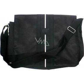 Montblanc Shoulder Bag taška cez rameno čierna 35 x 27 x 8,5 cm 1 kus