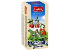 Apotheke Na imunitu s kustovnice čaj 20 x 2 g