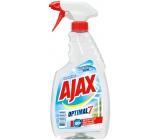 Ajax Optimal 7 Super Effect čistič okien s alkoholom rozprašovač 500 ml
