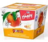 Bella Happy Baby Peach hygienické vreckovky 2 vrstvové 80 kusov