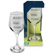 Albi Môj Bar Pohár na víno Ani sa nepýtaj 270 ml