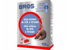 Bros Mäkká návnada na myši, potkany a potkany 150 g