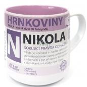 Nekupto Hrnkoviny Hrnek se jménem Nikola 0,4 litru