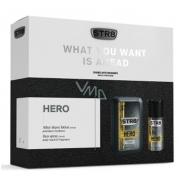 Str8 Hero voda po holení 100 ml + deodorant sprej150 ml, kozmetická sada