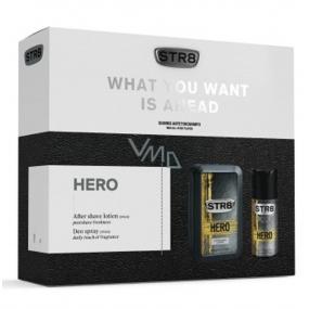 Str8 Hero voda po holení 100 ml + deodorant sprej 150 ml, kozmetická sada