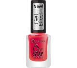 Dermacol 5 Day Stay Gél Effect dlhotrvajúci lak na nechty s gélovým efektom 28 Moulin Rouge 12 ml
