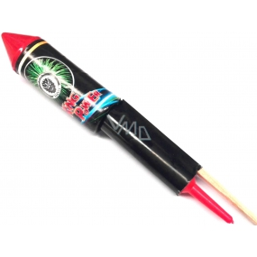 King Power raketa pyrotechnika veľká CE2 1 kus II. triedy nebezpečenstva predajné od 18 rokov!