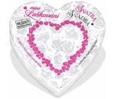Albi Mini Laškovanie - Svadba malé srdce plné inšpiráciou do partnerského života, obsahuje 21 zvitkov s inšpiráciou, pre 2 hráčov, odporúčaný vek od 18+