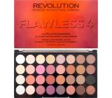 Makeup Revolution Ultra Eyeshadows paletka 32 očných tieňov Flawless 4 16 g