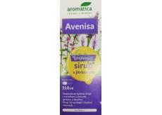 Aromatica Avenisa Tymianový bylinný sirup s skorocelom podporuje normálnu funkciu dýchacieho ústrojenstva, pomáha zefektívniť vykašliavanie, pre deti od 10 rokov 210 ml