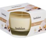 Bolsius True Scents Vanilla - Vanilka vonná sviečka v skle 90 x 63 mm